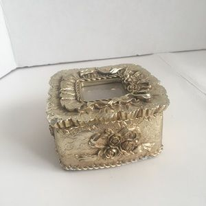 Vintage Victorian Style Picture Frame Trinket Box!